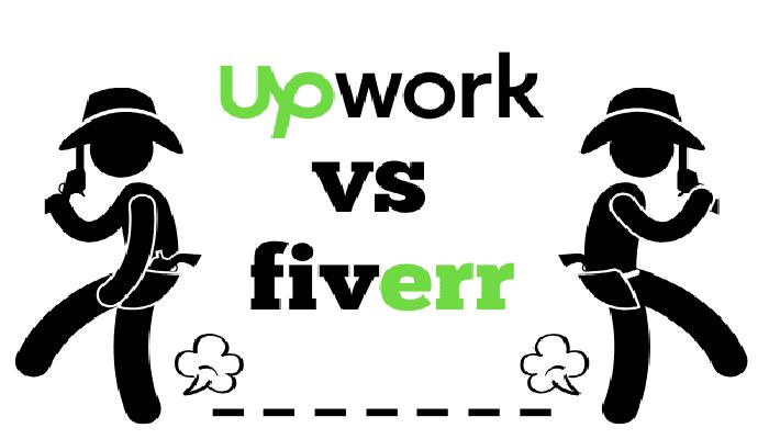 مقایسه وب سایت های آپ ورک و فیور