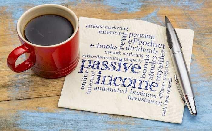 انواع درآمد غیرفعال