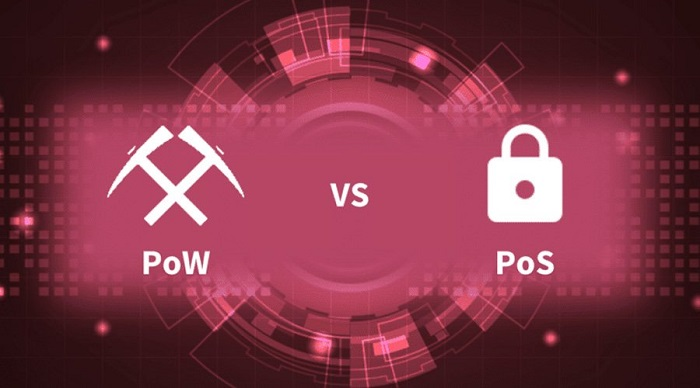 تفاوت PoW و PoS